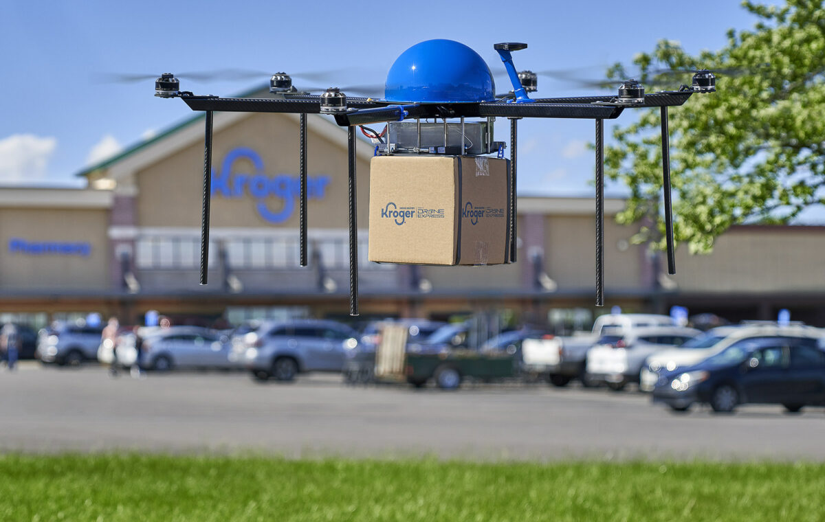 Report: Kroger's drone delivery takes flight