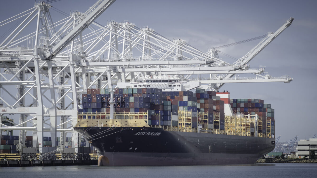 May retail sales supportive of freight flows