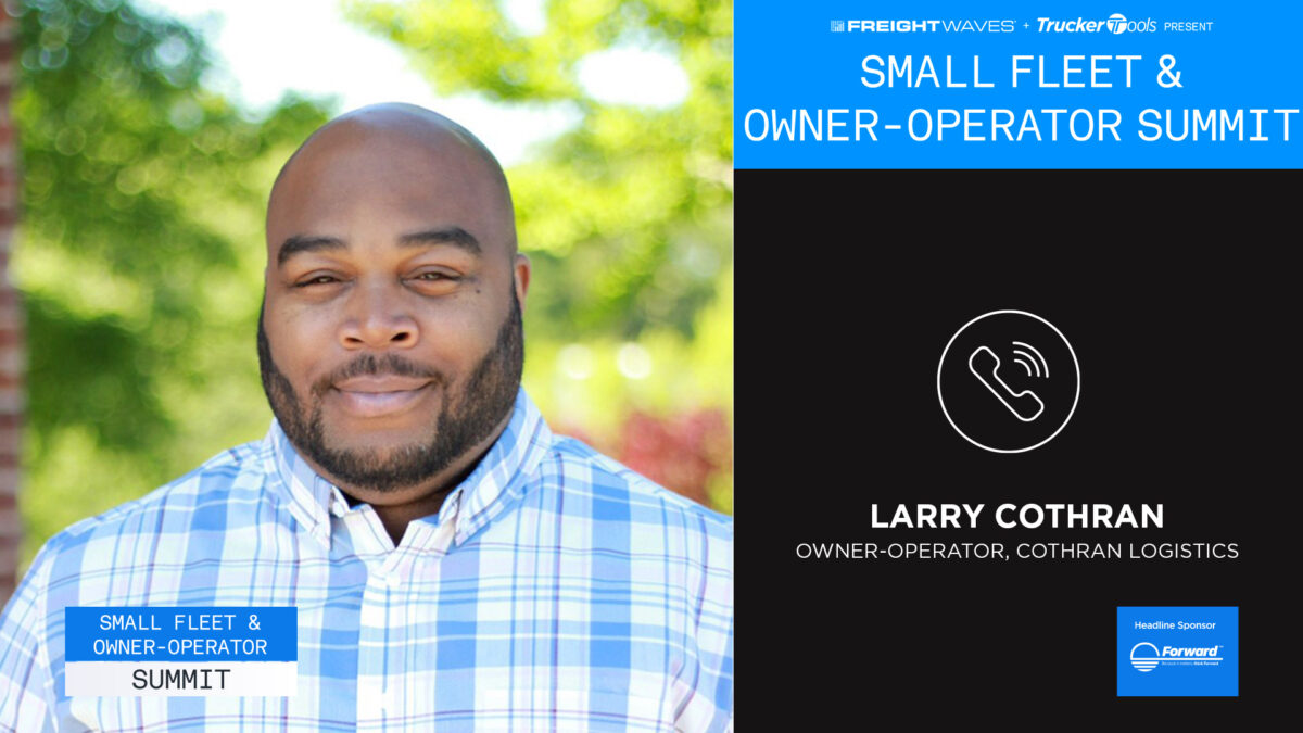 Small Fleet Summit: Making the jump to owner-operator