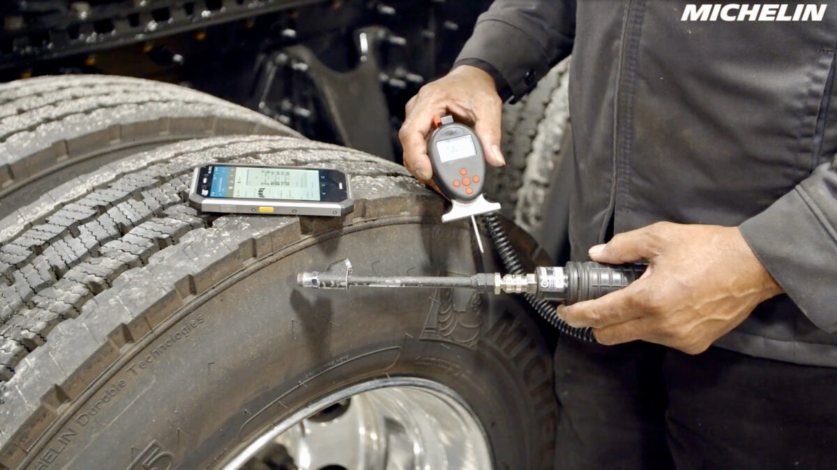 Mexican trucking industry slowly adapting to 'intelligent tires'