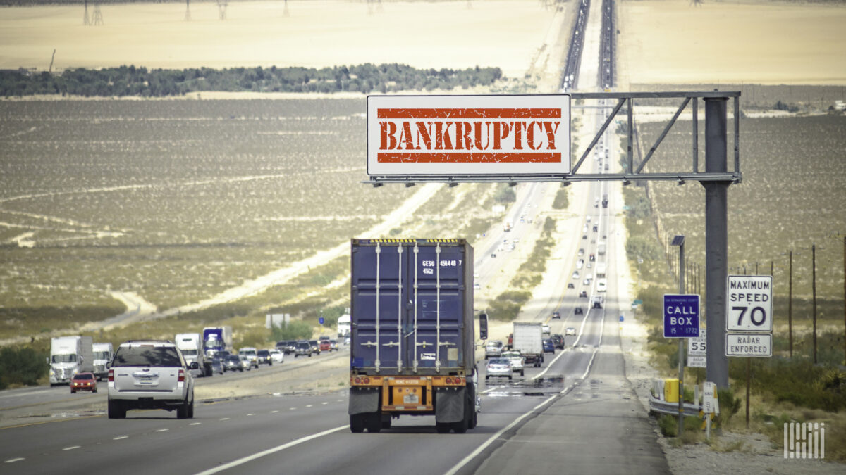 Ohio transportation company, 3 trucking affiliates file for Chapter 11 bankruptcy