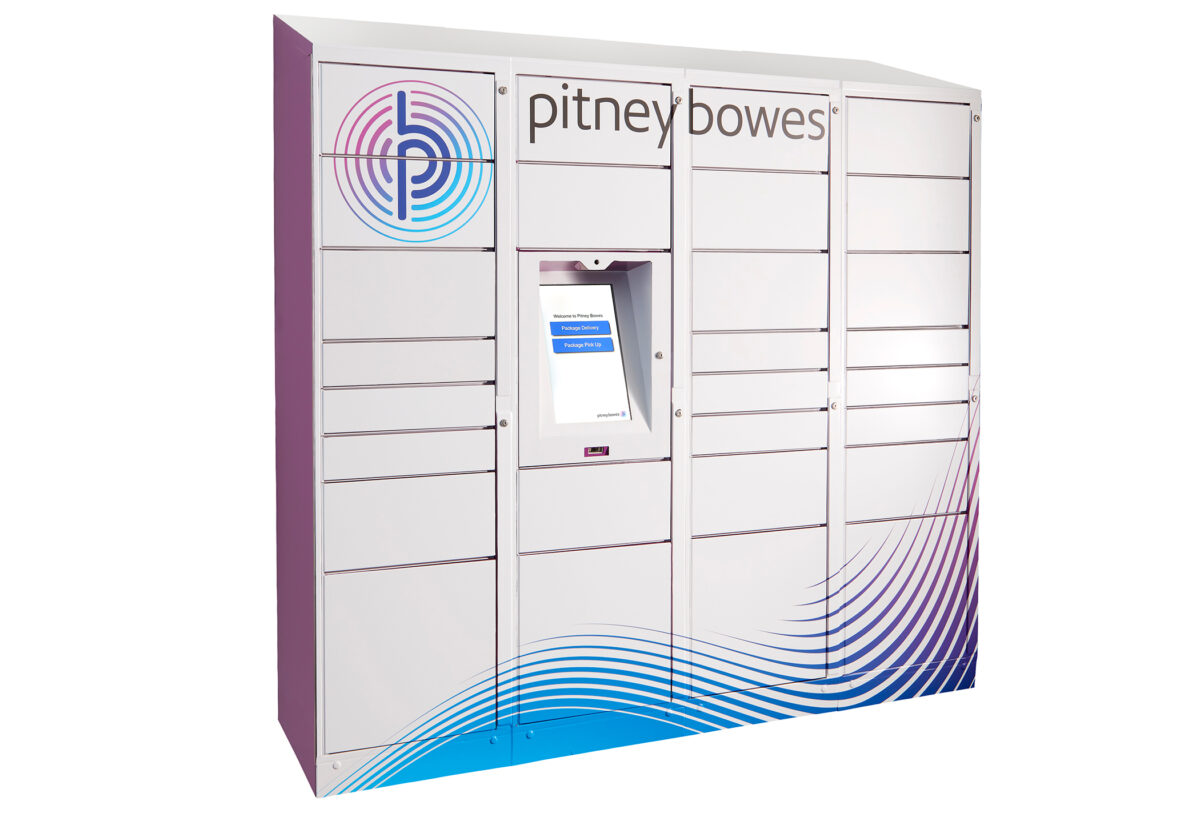 Pitney Bowes introduces ParcelPoint Smart Lockers