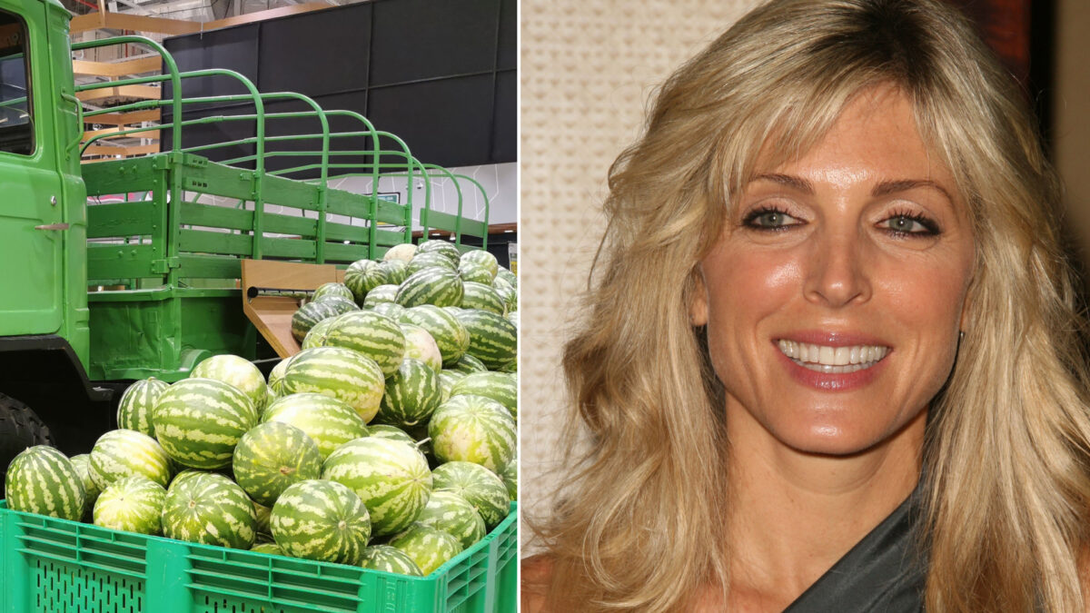 The light load: Marla meets the watermelon truck