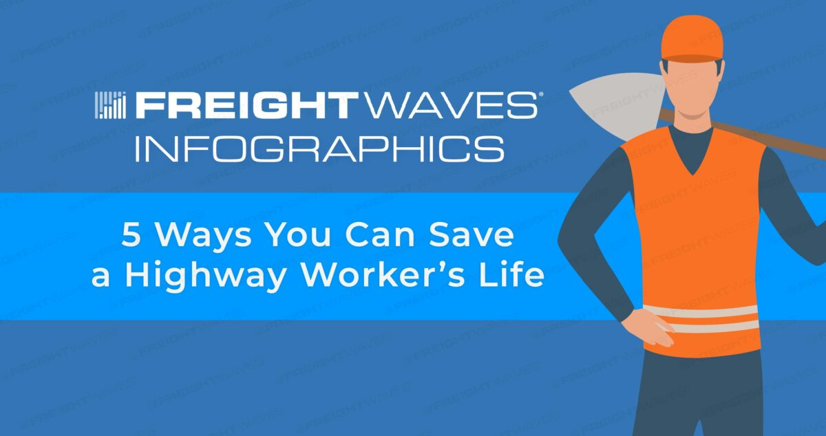 Daily Infographic: 5 Ways You Can Save a Highway Worker's Life