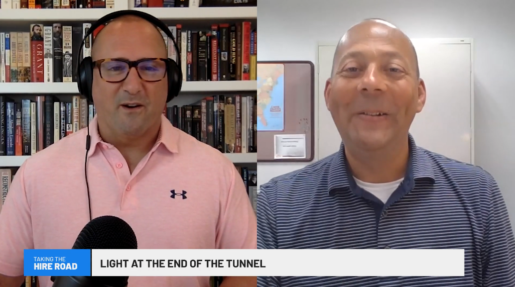 Light at the end of the tunnel — Taking the Hire Road