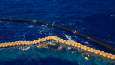 The Ocean Cleanup continues efforts to rid the ocean of plastic.