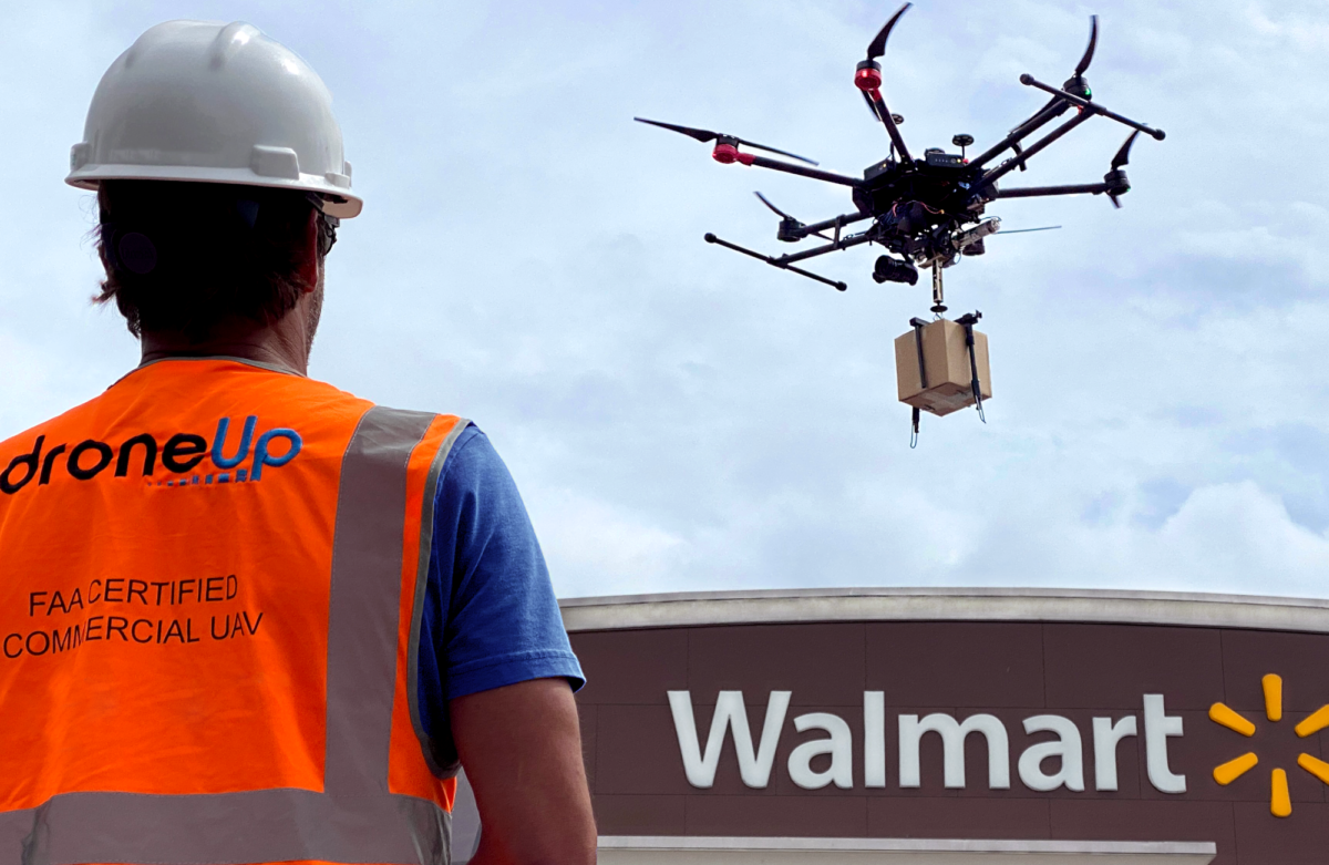 Walmart invests in DroneUp, plans drone deliveries from Bentonville store this summer