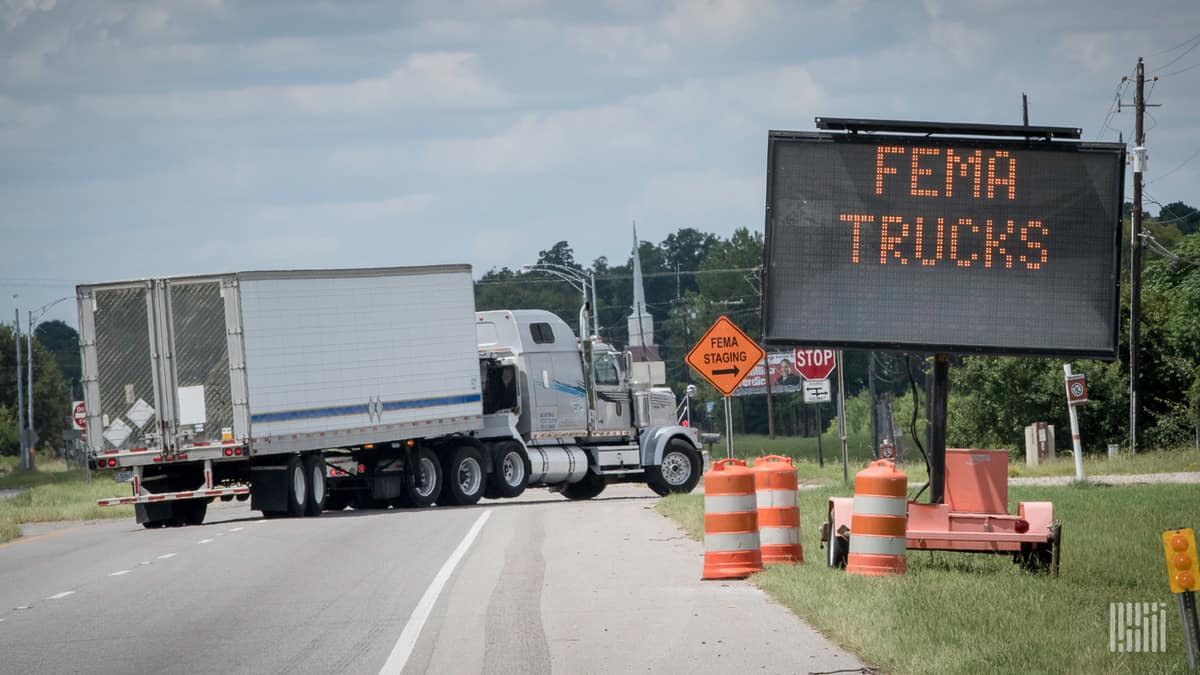 Drilling Deep: A hurricane's impact on trucking and how long it lasts