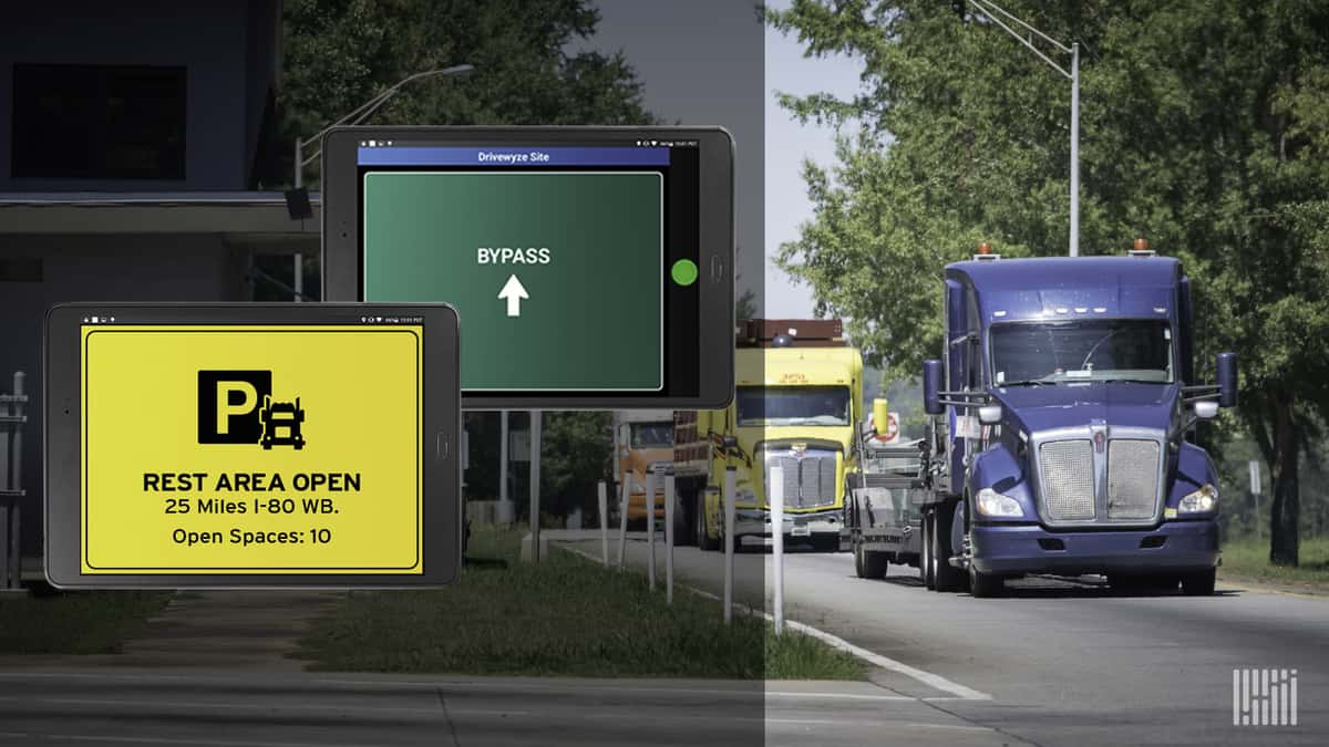 Latest Drivewyze offering speeds up inspection process at weigh stations