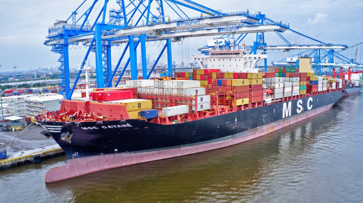 20 tons of coke = 40+ years in prison for MSC container-ship crew