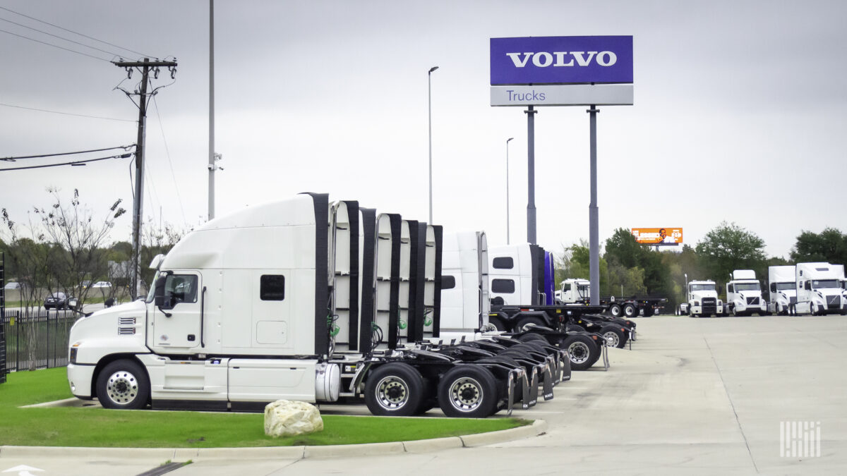 Volvo Group posts solid Q2 results despite losing month of production