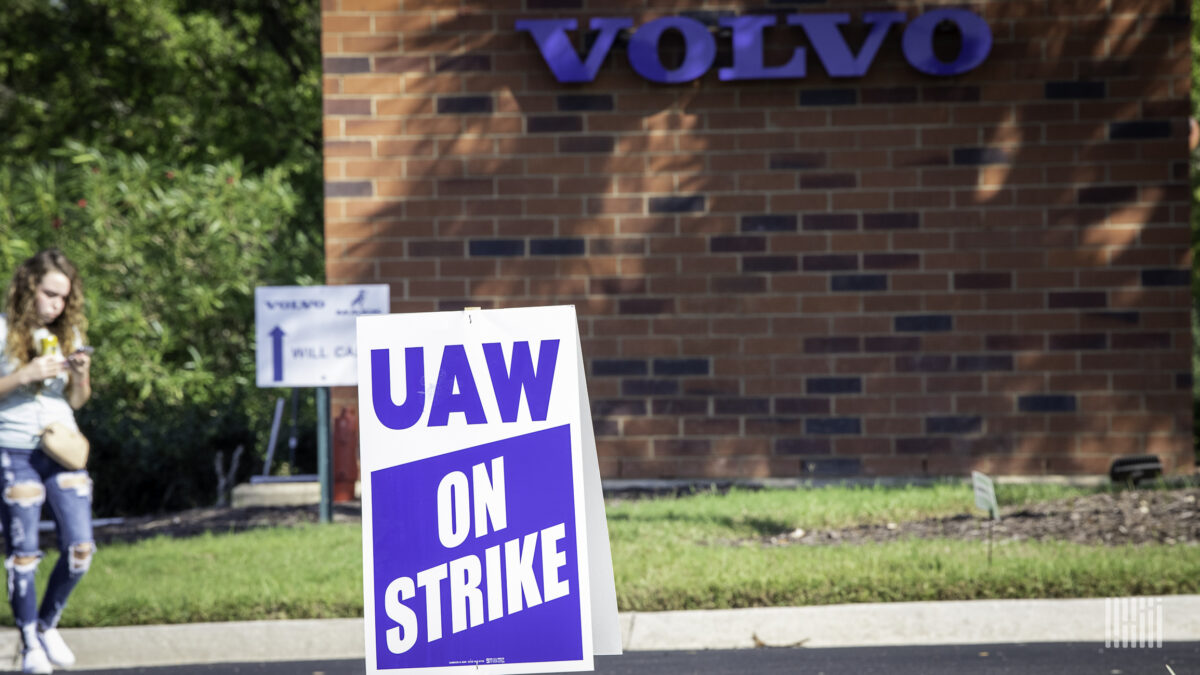 End game: Volvo reopens plant and encourages strikers to come back