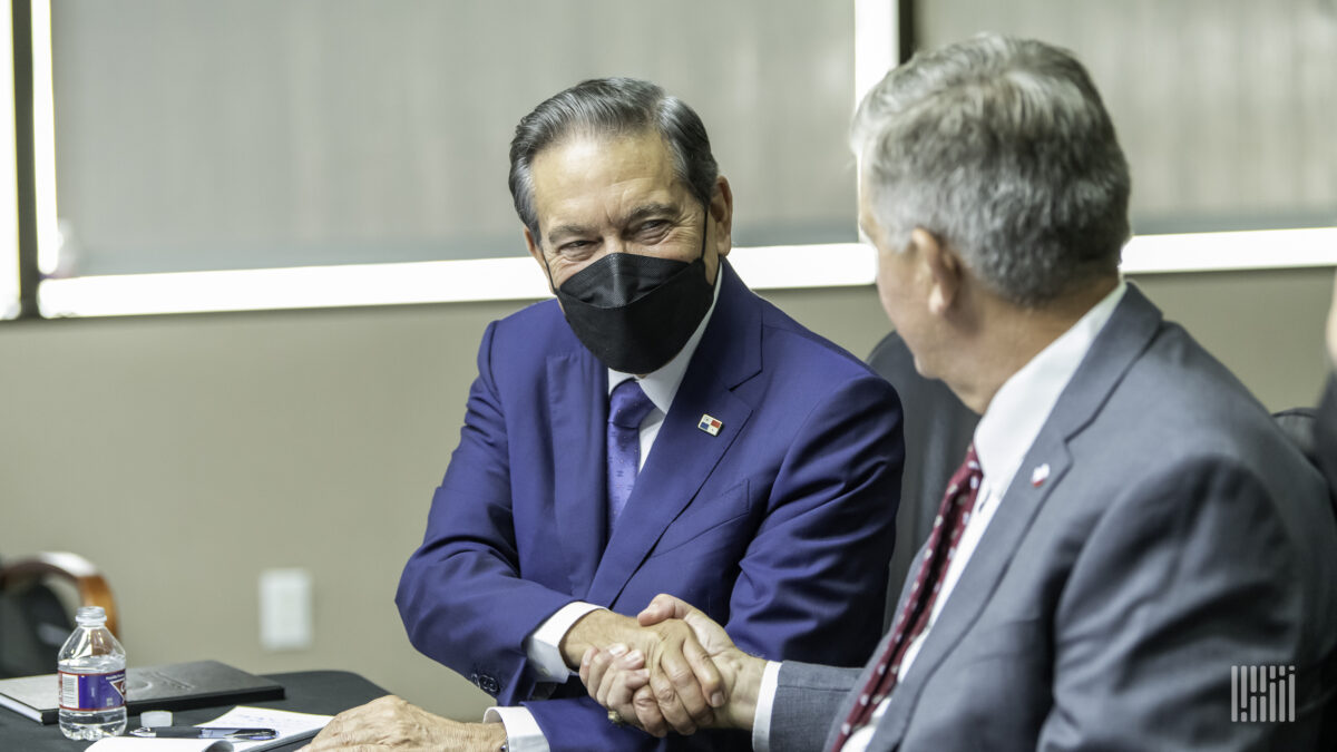 President of Panama lauds nations' ties in visit to Port Houston