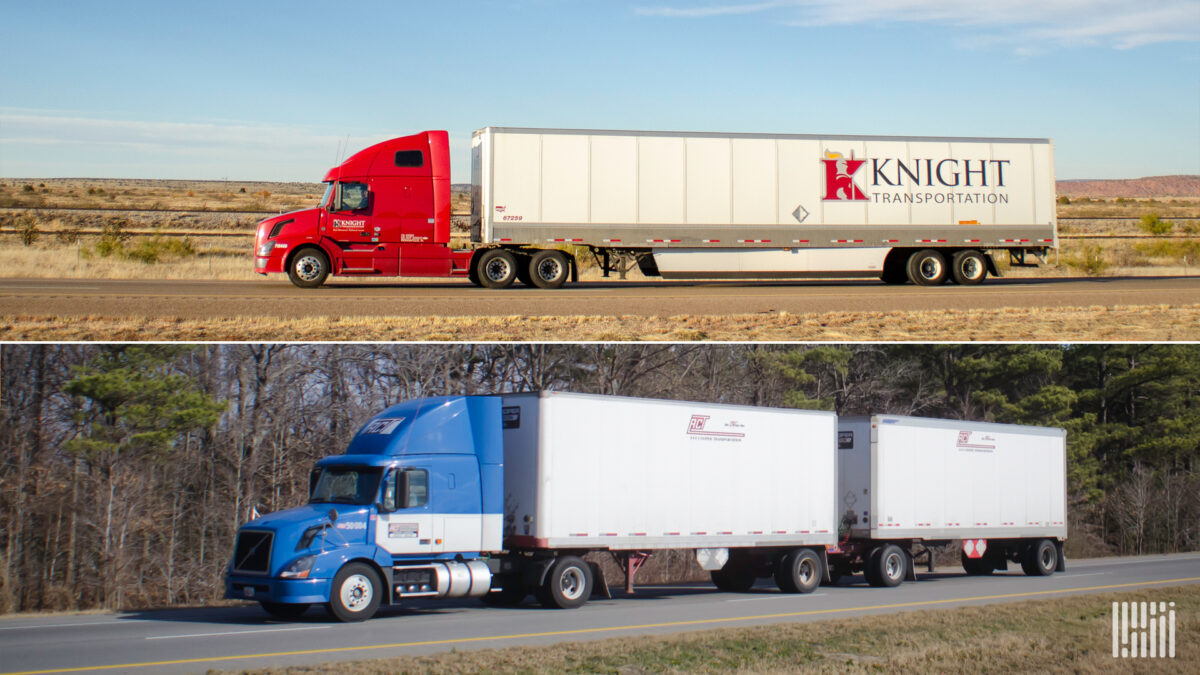 Knight-Swift deal shows the value in owning an LTL