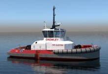 Crowley will deploy its first electric tugboat in San Diego in 2023.