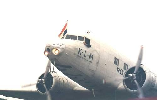 his is a DC-2 airplane flown by KLM, a major European passenger/cargo airline. Photo courtesy of historicaircraftpictures.com