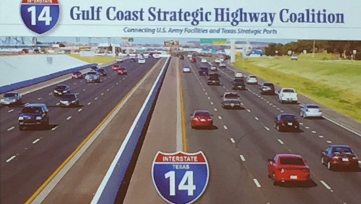 The Gulf Coast Strategic Highway Coalition uses this photo to promote the highway. (Photo: Gulf Coast Strategic Highway Coalition)