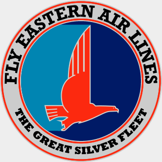 """This was the Eastern logo that also advertised its """"Great Silver Fleet."""""""