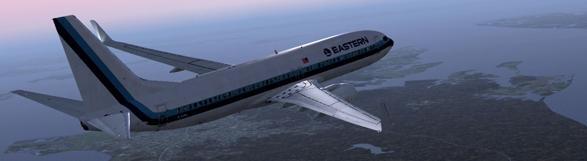 An Eastern jet in flight near the end of the company's tenure. (Photo: Eastern Airlines VA)