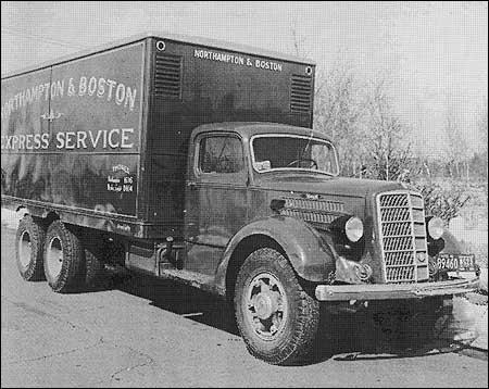 A 1930s Mack truck used by an express service company. (Photo: Mack Trucks)
