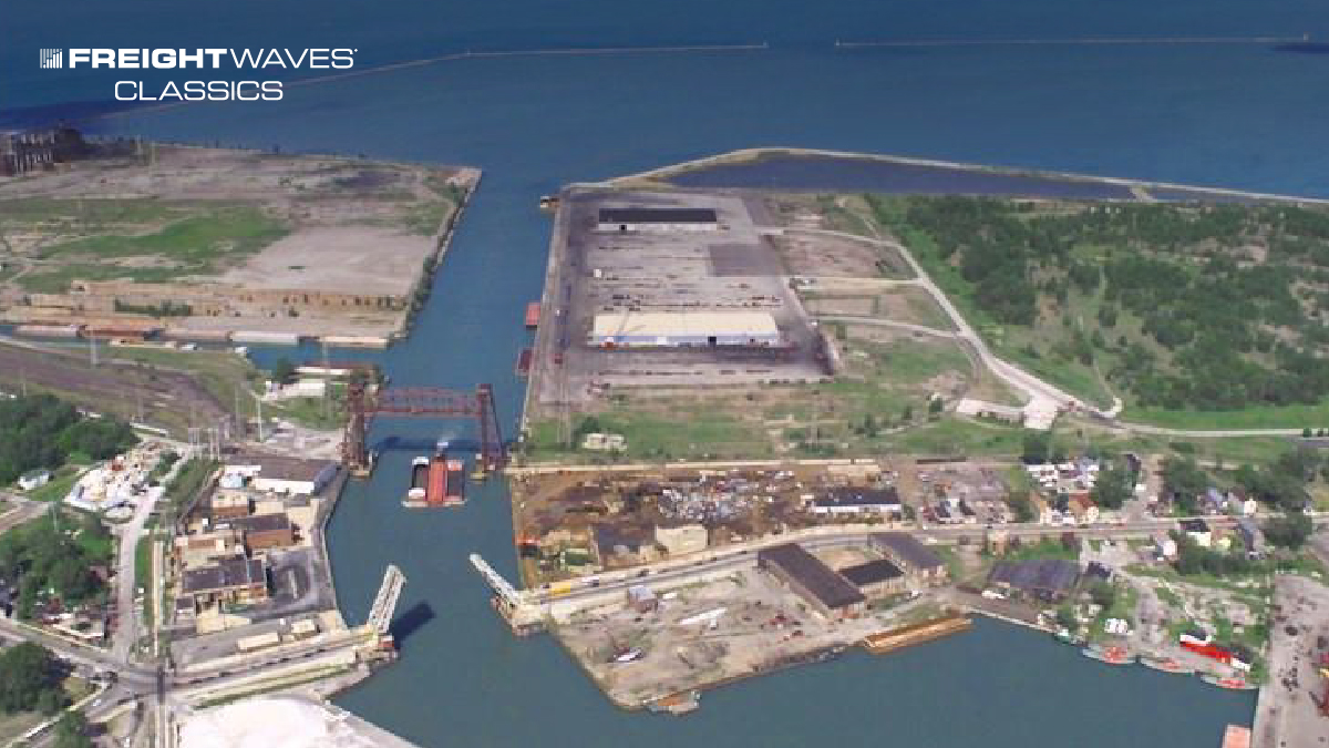 """FreightWaves Classics: Port of Chicago billed as the """"greatest intermodal facility in North America"""""""