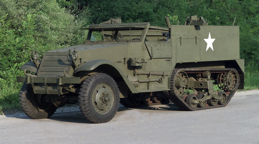 A half-track built by the White Motor Company for the U.S. Army. (Photo: wrhs.org)
