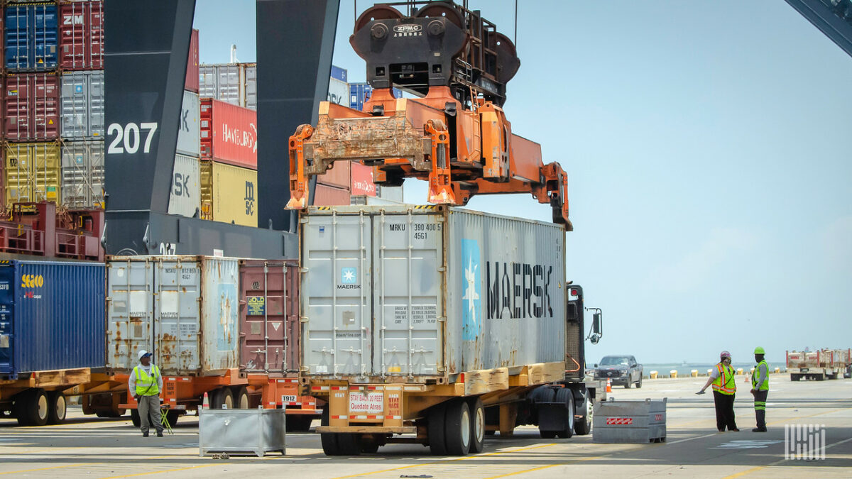EDRAY receives $7M to improve port logistics through flow stacking