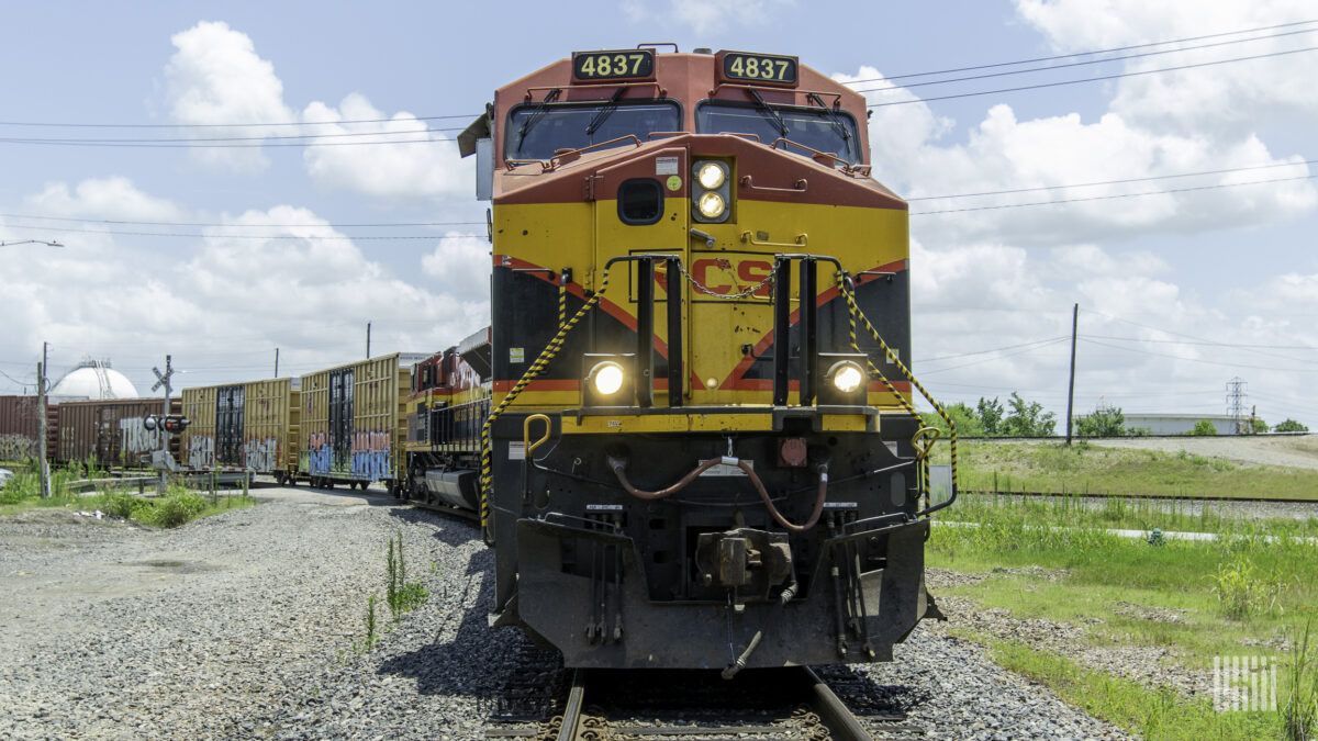 Kansas City Southern expects strong market for rail in second half of 2021