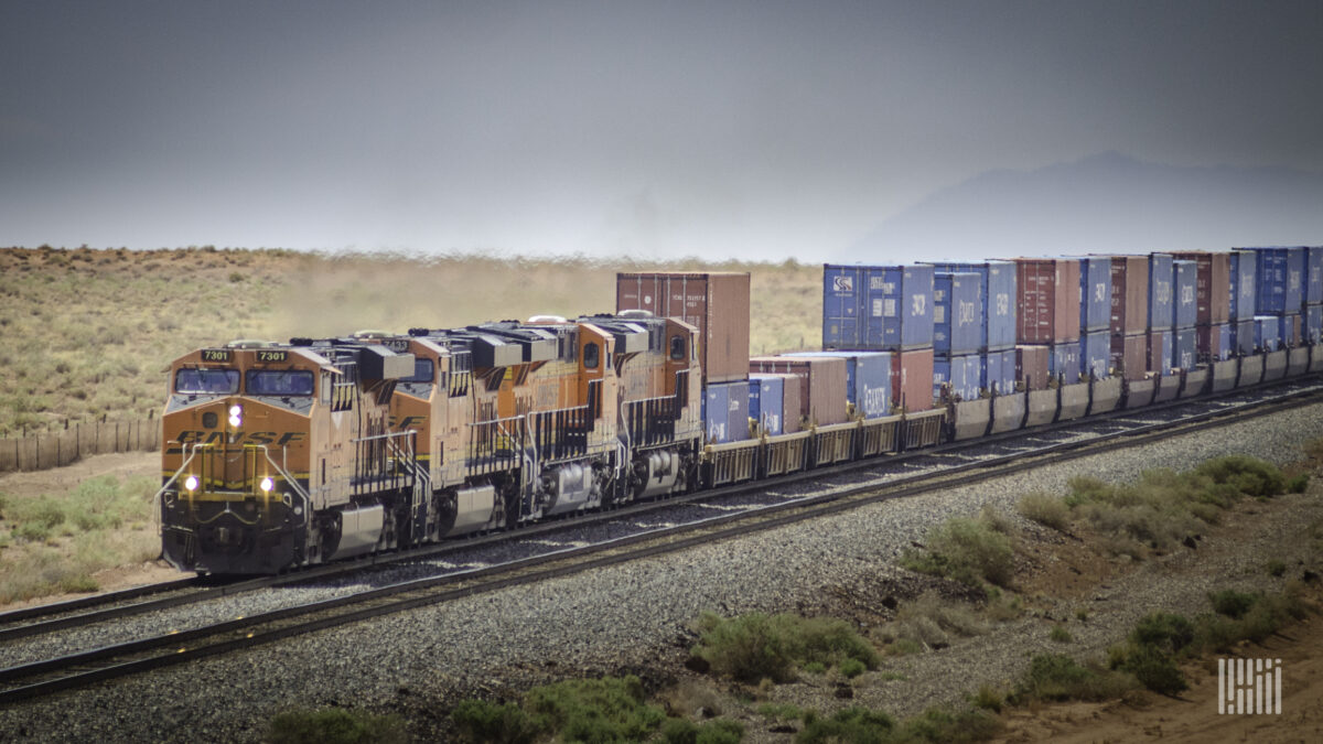 MSC warns of international intermodal impacts on West and East coasts