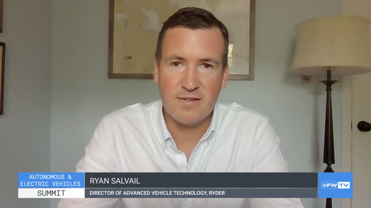 AEV Summit: Ryder's Salvail discusses climbing the EV learning curve