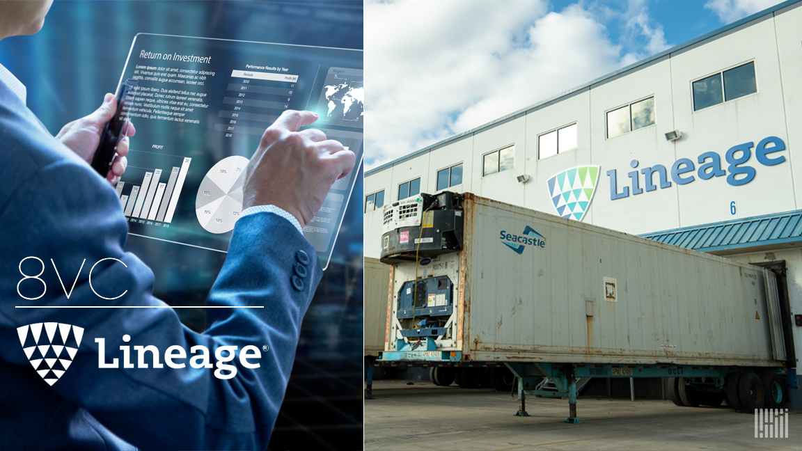 Lineage, 8VC announce alliance to advance supply chain innovation
