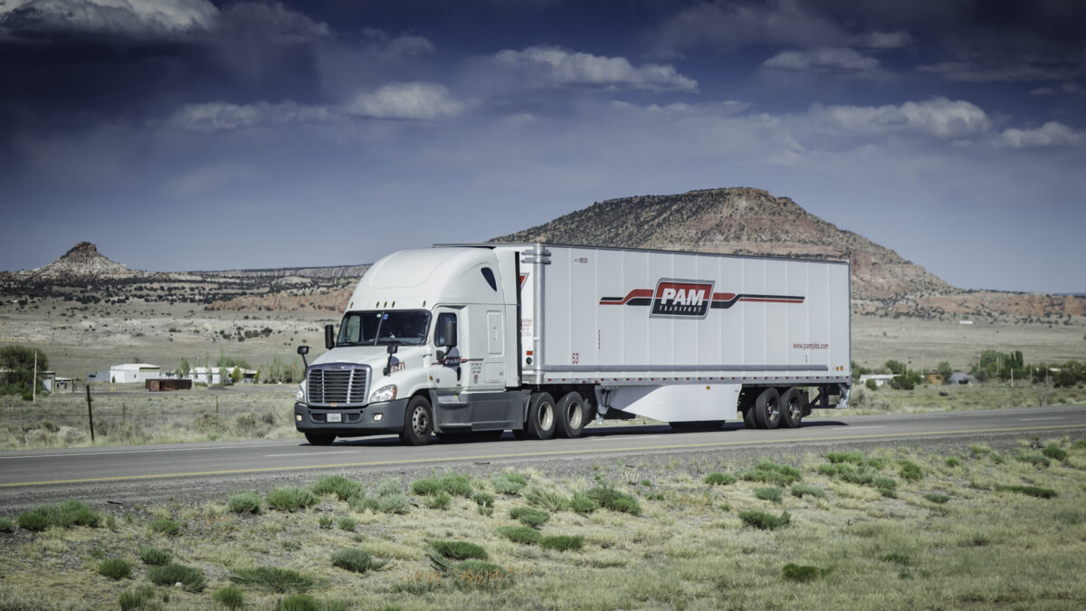 P.A.M. Transportation's Q2 results show strength in TL market