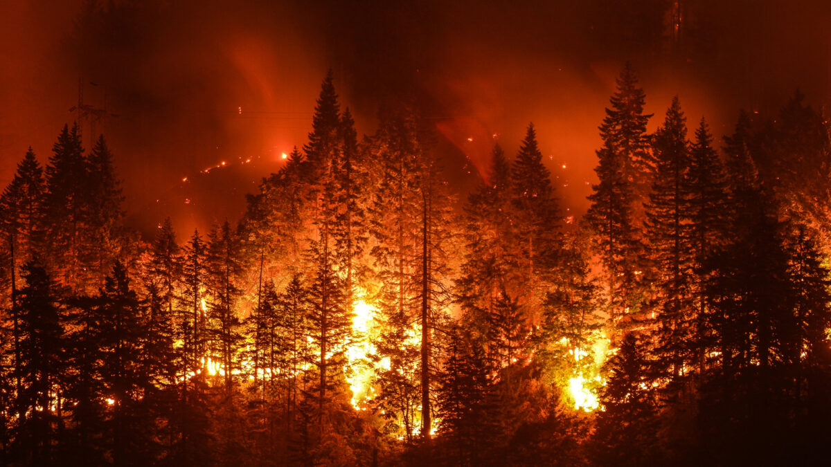 Oregon's Bootleg fire burning out of control