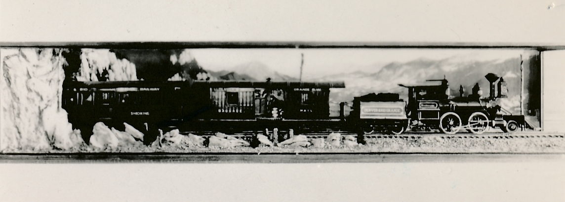 A D&RGW train. (Photo: Colorado State Historical Society)