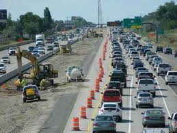 A familiar scene across America. This is road construction on I-15 in northern Utah. (Photo: standard.net)