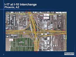 The intersection of interstates 10 and 17 is considered one of the worst freight bottlenecks in the U.S. according to the Federal Highway Administration. (Photo: Federal Highway Administration)