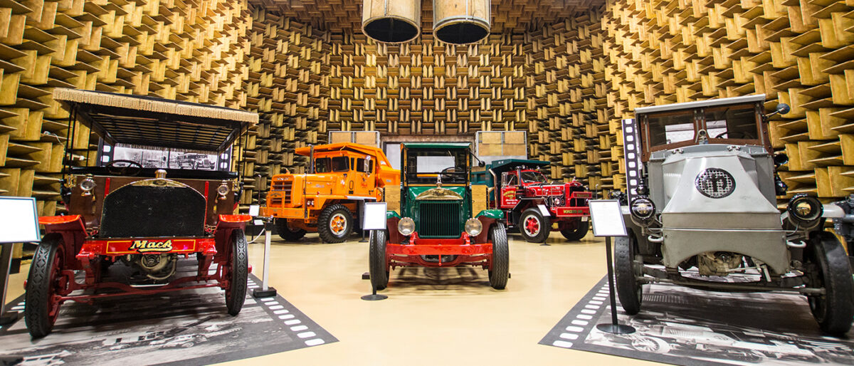Exhibits at the Mack Trucks Historical Museum. (Photo: Mack Trucks Historical Museum)