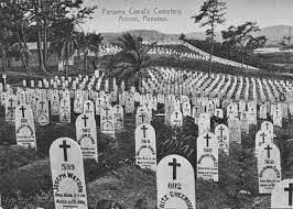 A graveyard in Panama for Americans who died during the construction of the Panama Canal. (Photo: Marine Corps University)