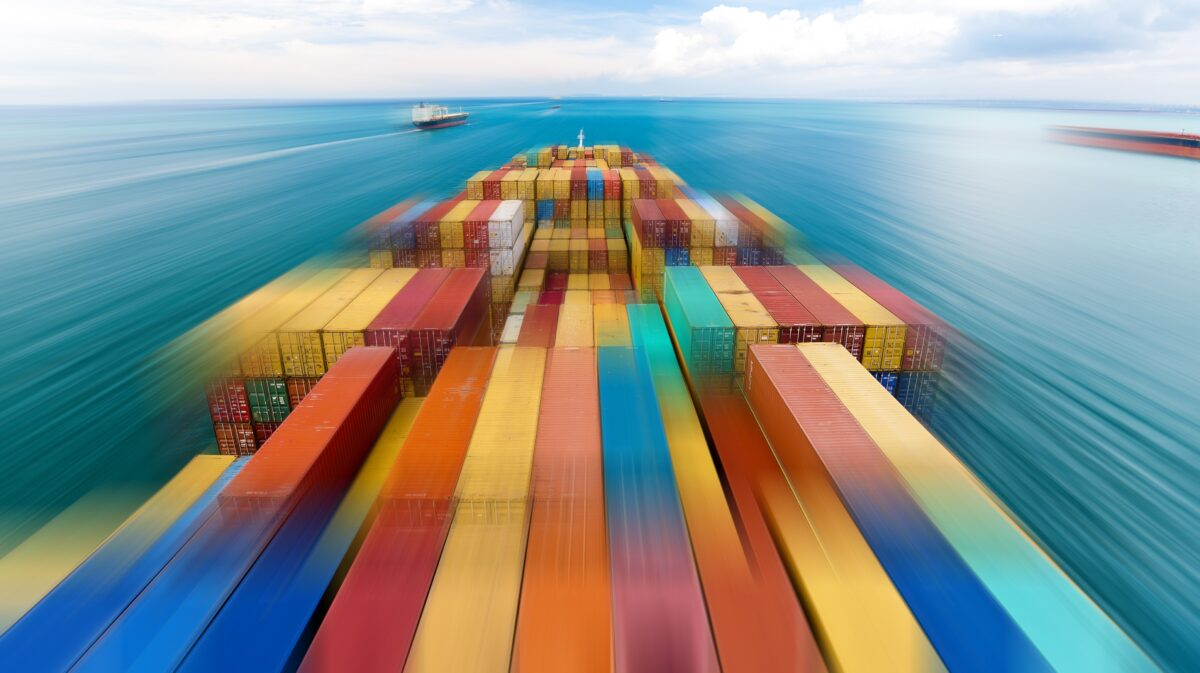 Full steam ahead: Why container ships are racing across the Pacific