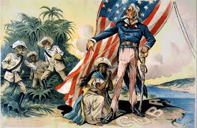 A political cartoon from the Spanish-American War period. (Image: miami-history.com)