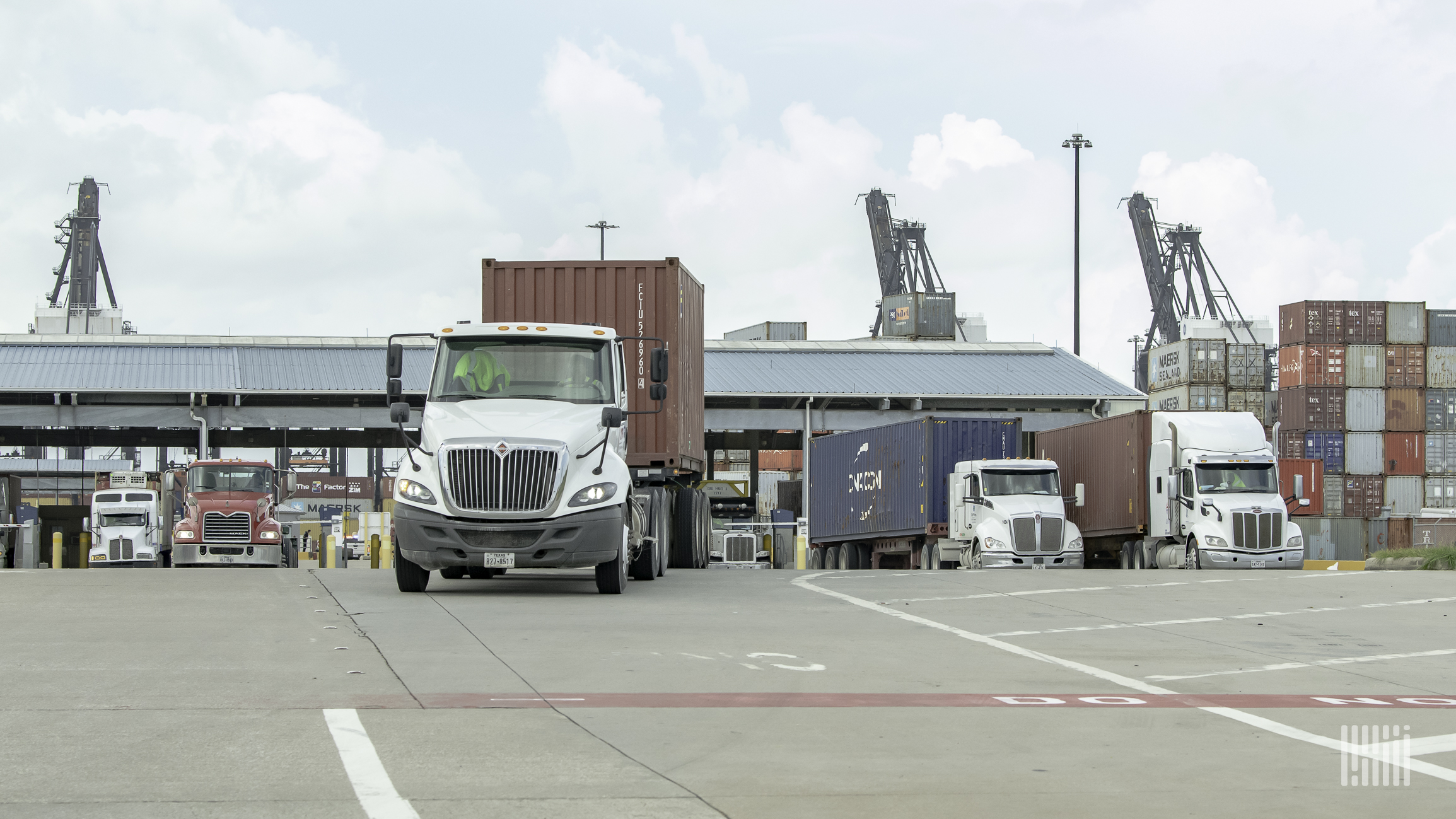 Port congestion leading to new surcharges