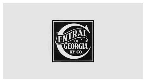 The Central of Georgia Railway Co. logo in about 1903. (Illustration: Central of Georgia Railway Historical Society)