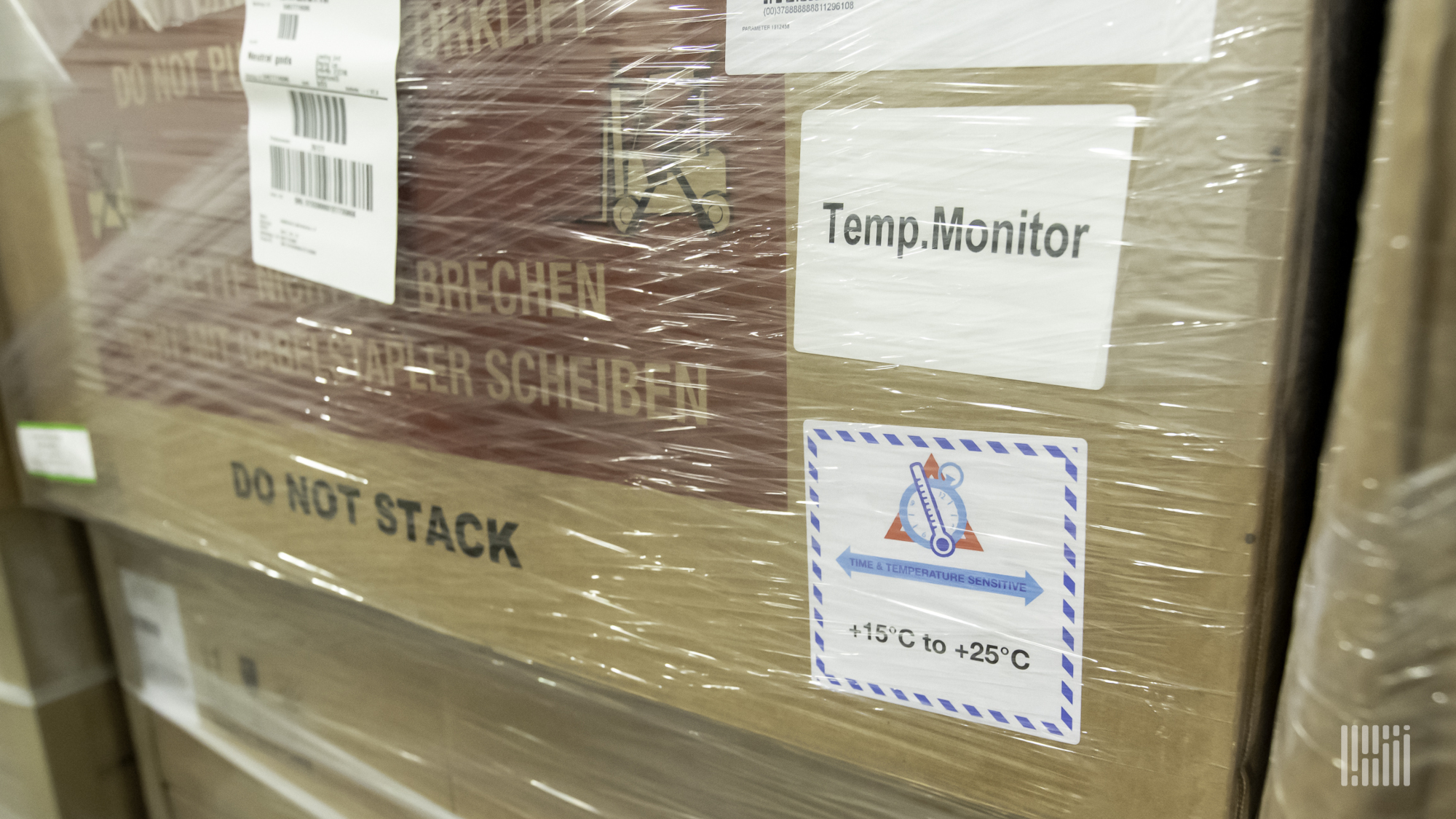 CalAmp temperature sensor for cold chain solutions