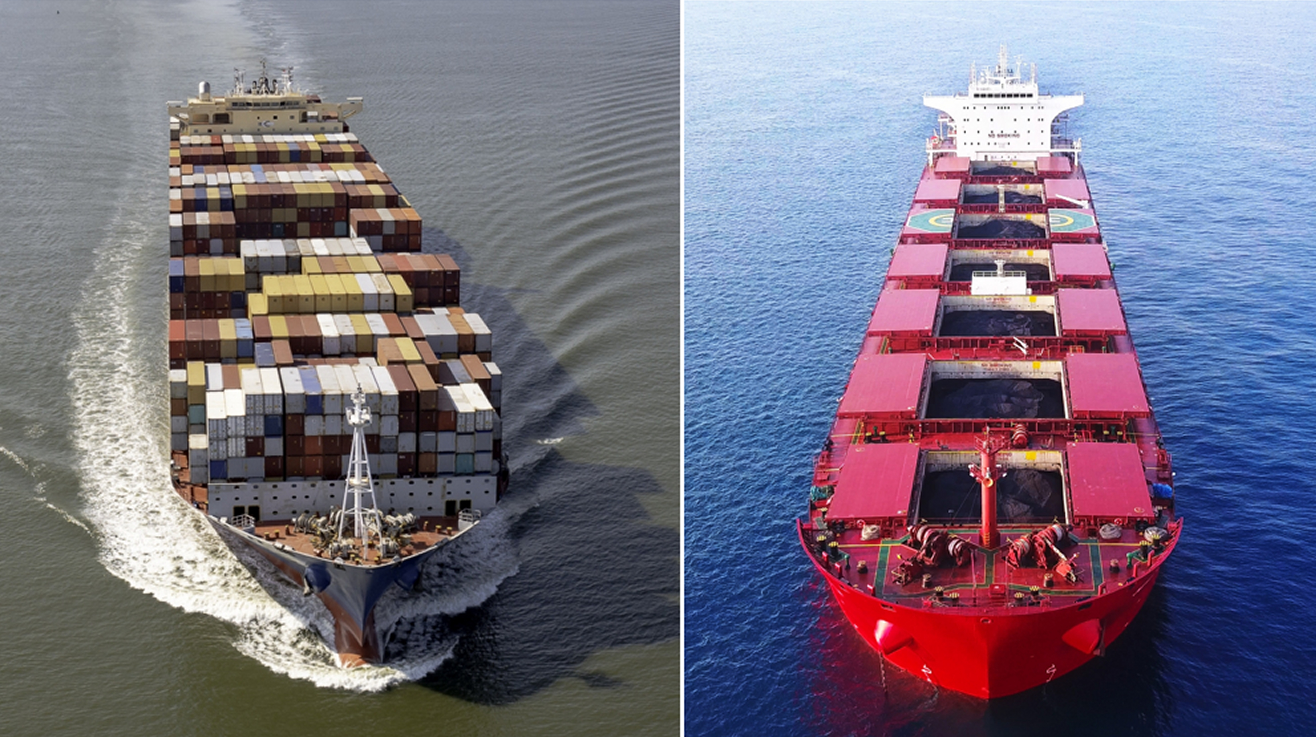 container dry bulk shipping