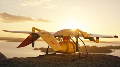 DHL delivery drone stops production