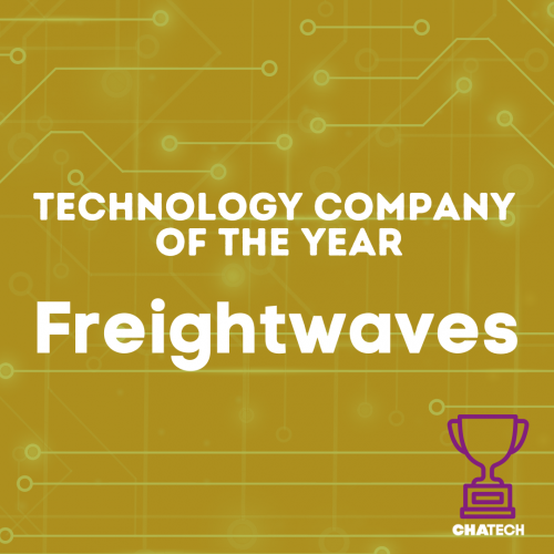 FreightWaves received the Technology Company of the Year award from the Chattanooga Technology Council.