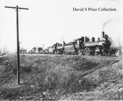 A Yazoo & Mississippi Valley Railroad train. (Photo: David S. Price Collection)