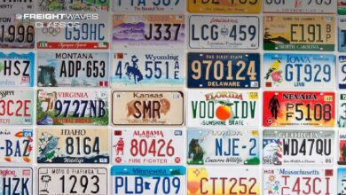 An assortment of license plates. (Photo: you.gov.america)