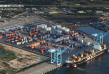 An aerial view of the Port of Mobile. (Photo: Alabama State Port Authority)