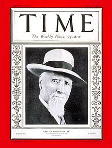 TIME magazine featured Robert Dollar on the cover of its March 19, 1928 issue. (Photo: wikipedia.com)